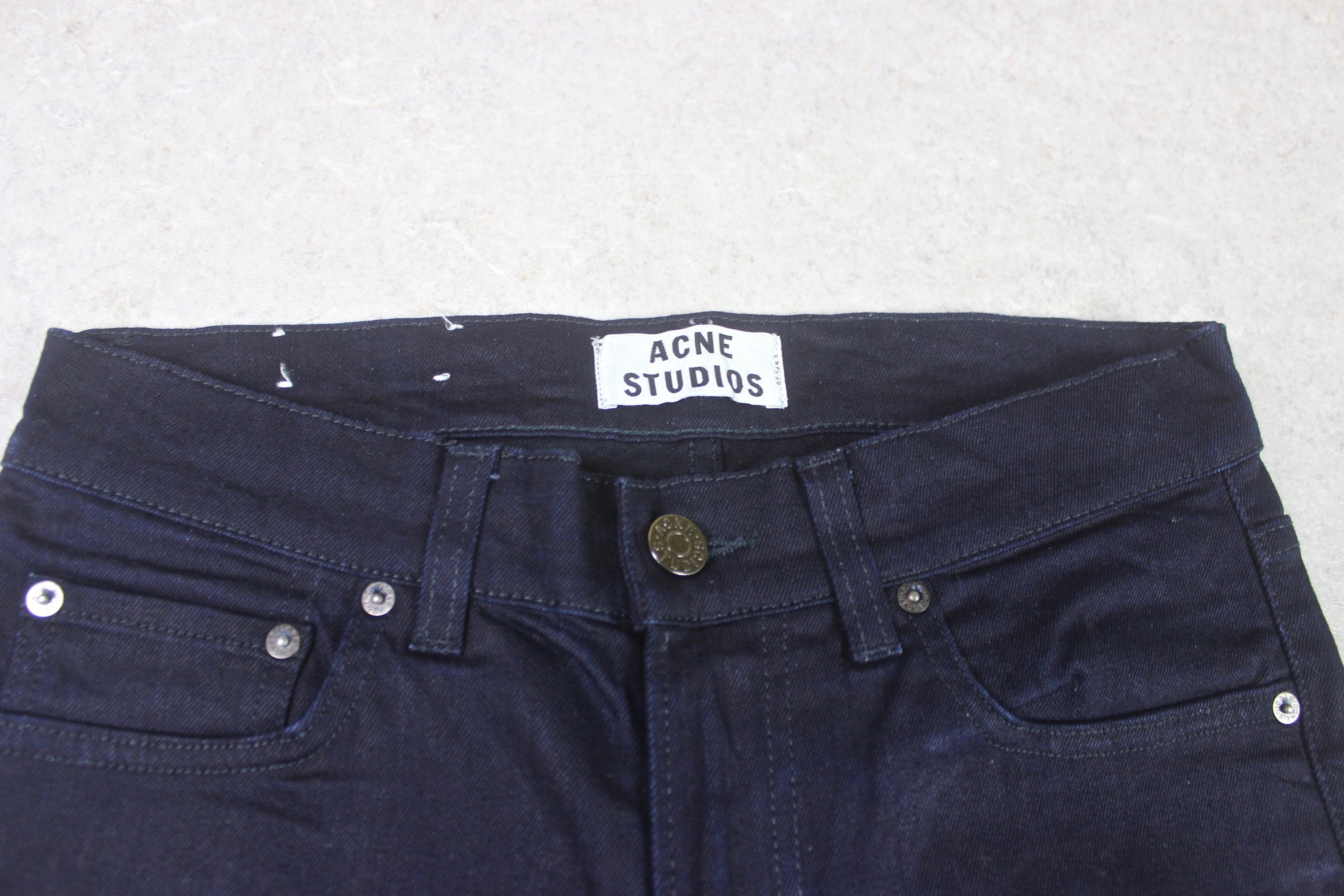 Acne Studios - Ace Navy Cash Jeans - Blue - 29/32