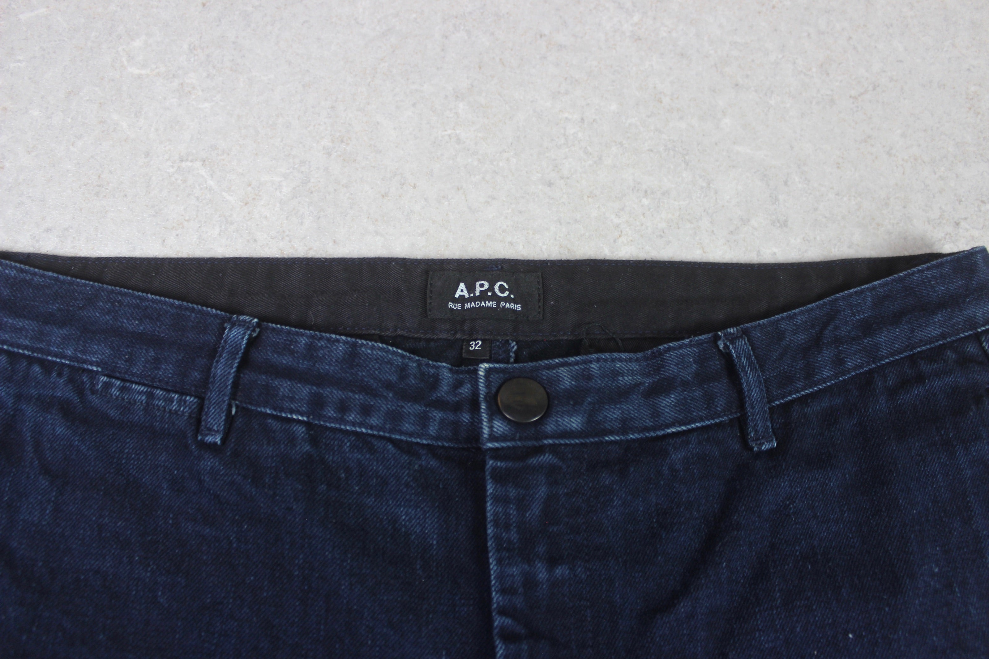 A.P.C. - Denim Chino Trousers/Jeans - Blue - 32