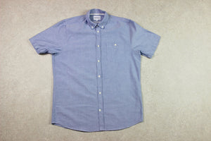 Norse Projects - Short Sleeve Shirt - Blue - Large