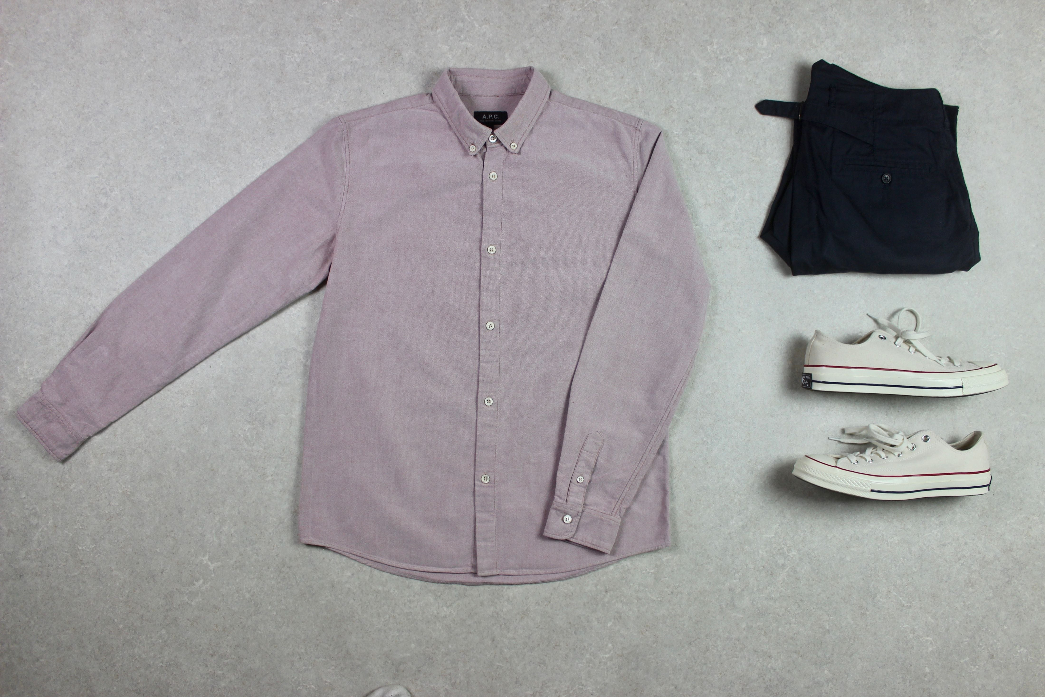 A.P.C. - Shirt - Pink - Small