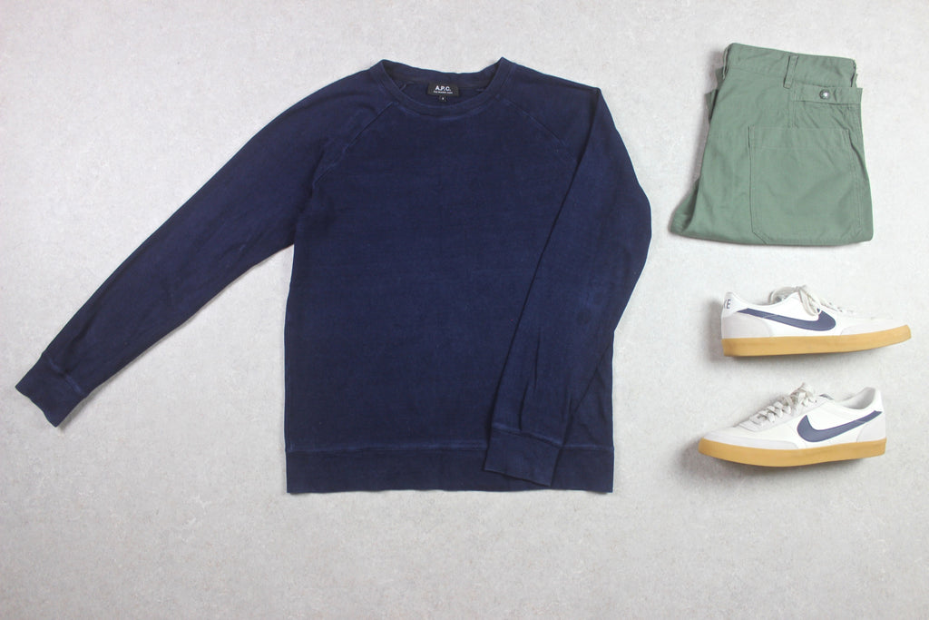 A.P.C. - Jumper - Denim Blue - Small