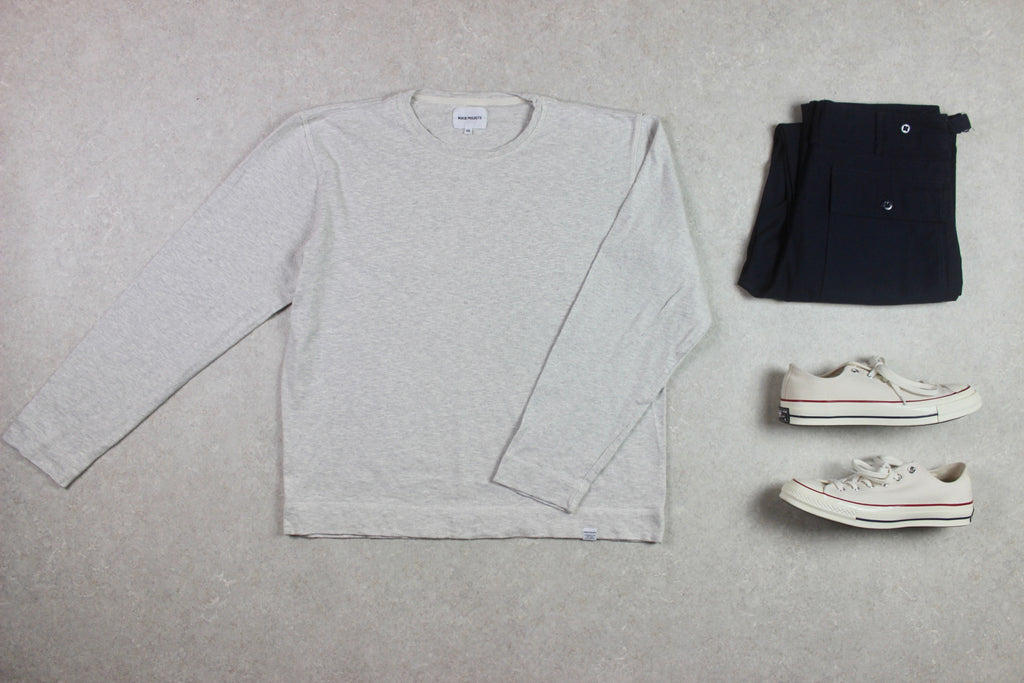 Norse Projects - Jumper - Grey - XXL Extra Extra Large