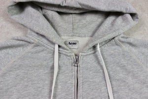 Acne Studios - Double Zip Hoodie Jumper - Grey - Large