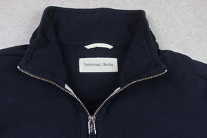 Universal Works - Jersey Track Jacket - Navy Blue - Extra Large