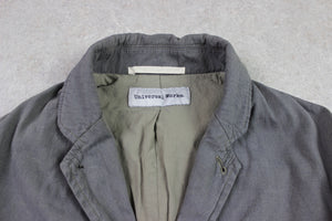 Universal Works - Blazer Chore Jacket - Grey/Khaki - Small