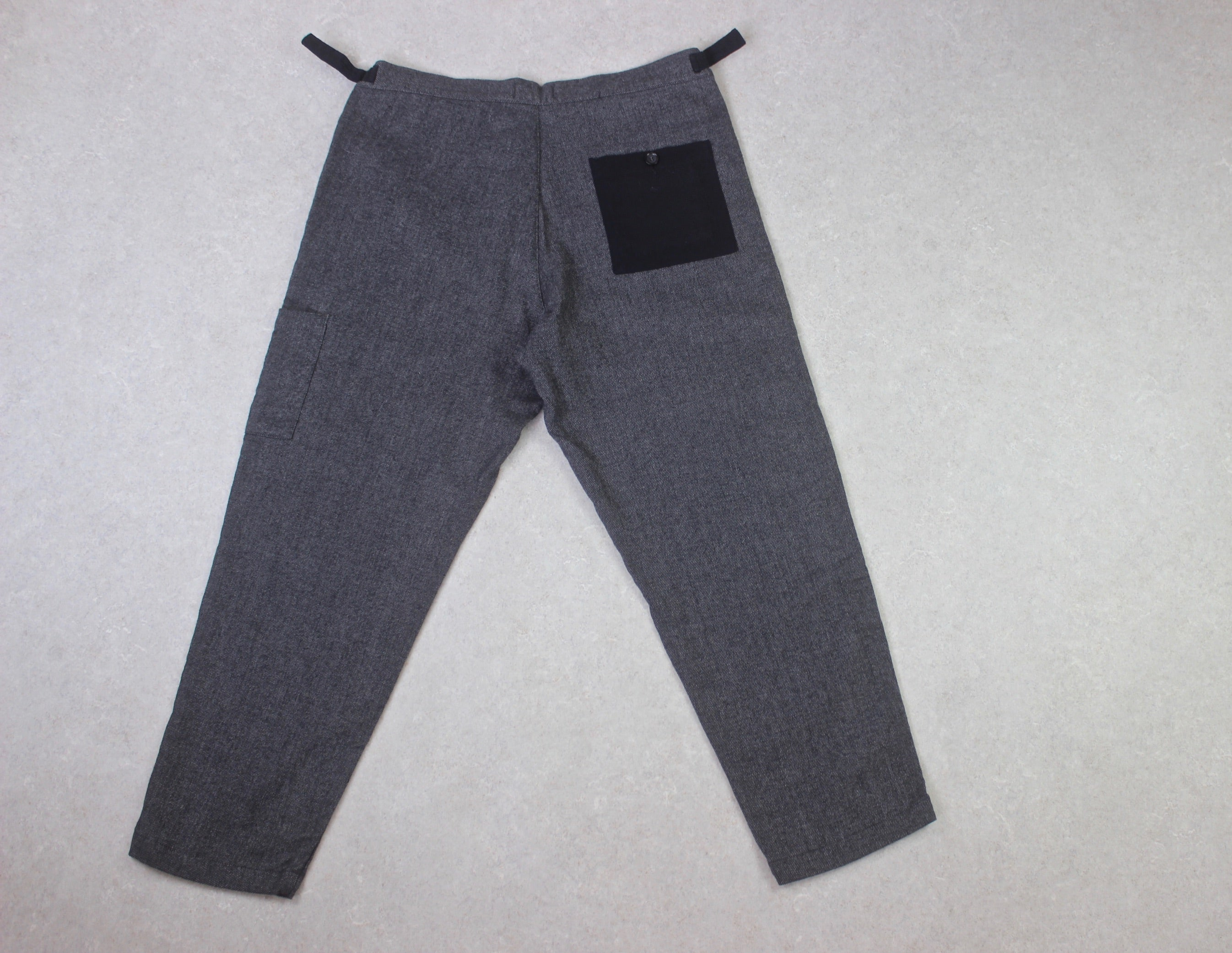Oliver Spencer - Judo Pants Trousers - Grey/Navy Blue - Medium/34