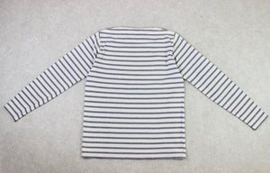 Norse Projects - Long Sleeve T Shirt - White/Grey Stripe - Medium