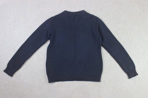 Our Legacy - Chunky Knit Jumper - Navy Blue - 48/Medium