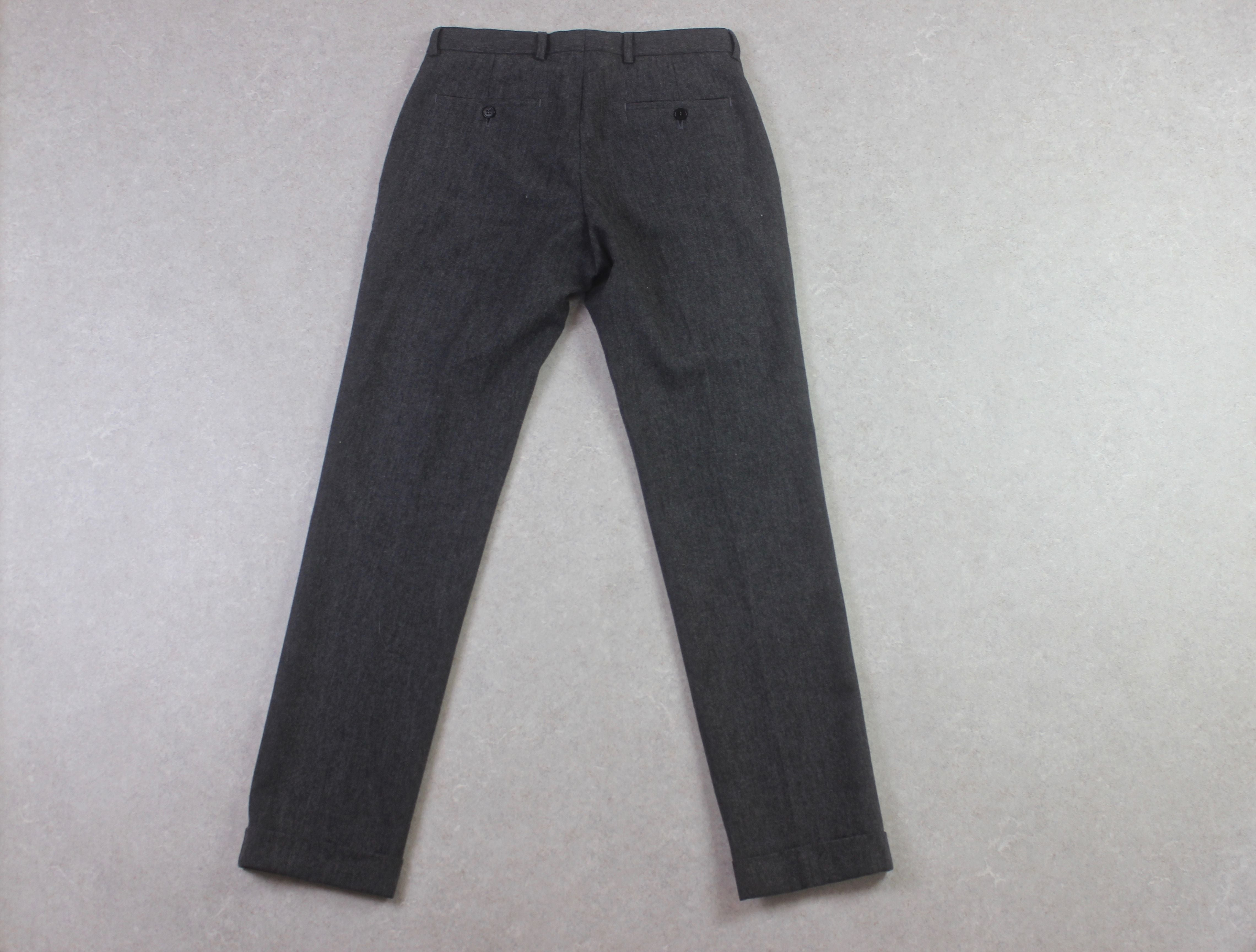 Whistles - Wool Trousers - Grey - 30