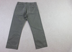 RRL Ralph Lauren - Fatigue Trousers/Chinos - Khaki Green - 30