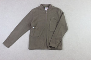 Garbstore - Fleece Jacket - Beige/Green - Medium