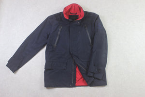 Saint James - Jacket - Navy Blue/Red - Small