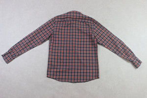 A.P.C. - Shirt - Red/Navy Blue Check - Small