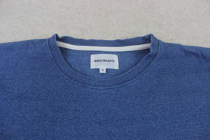 Norse Projects - T Shirt - Denim Blue - Extra Large