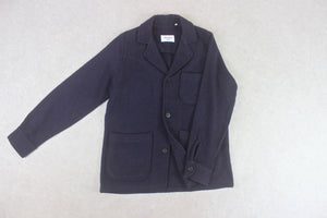 Our Legacy - Wool Blazer Jacket - Navy Blue - 48/Medium