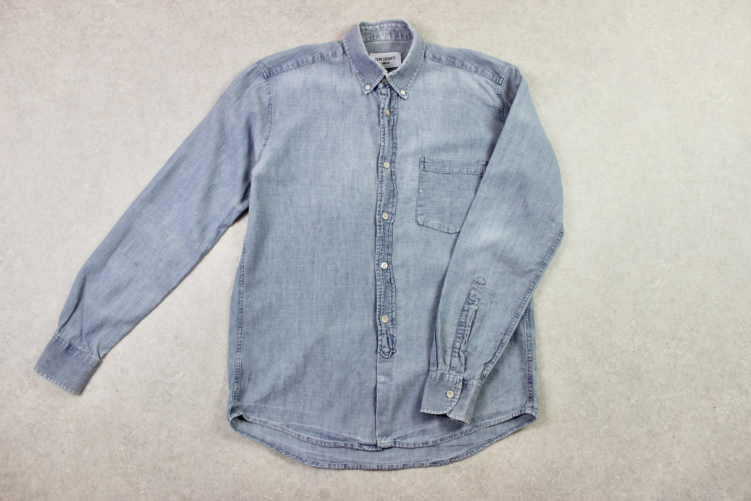 Our Legacy - Denim Shirt - Blue - 48/Medium