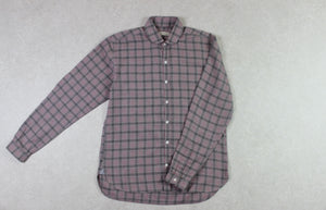 Oliver Spencer - Shirt - Red Check - 15/Small