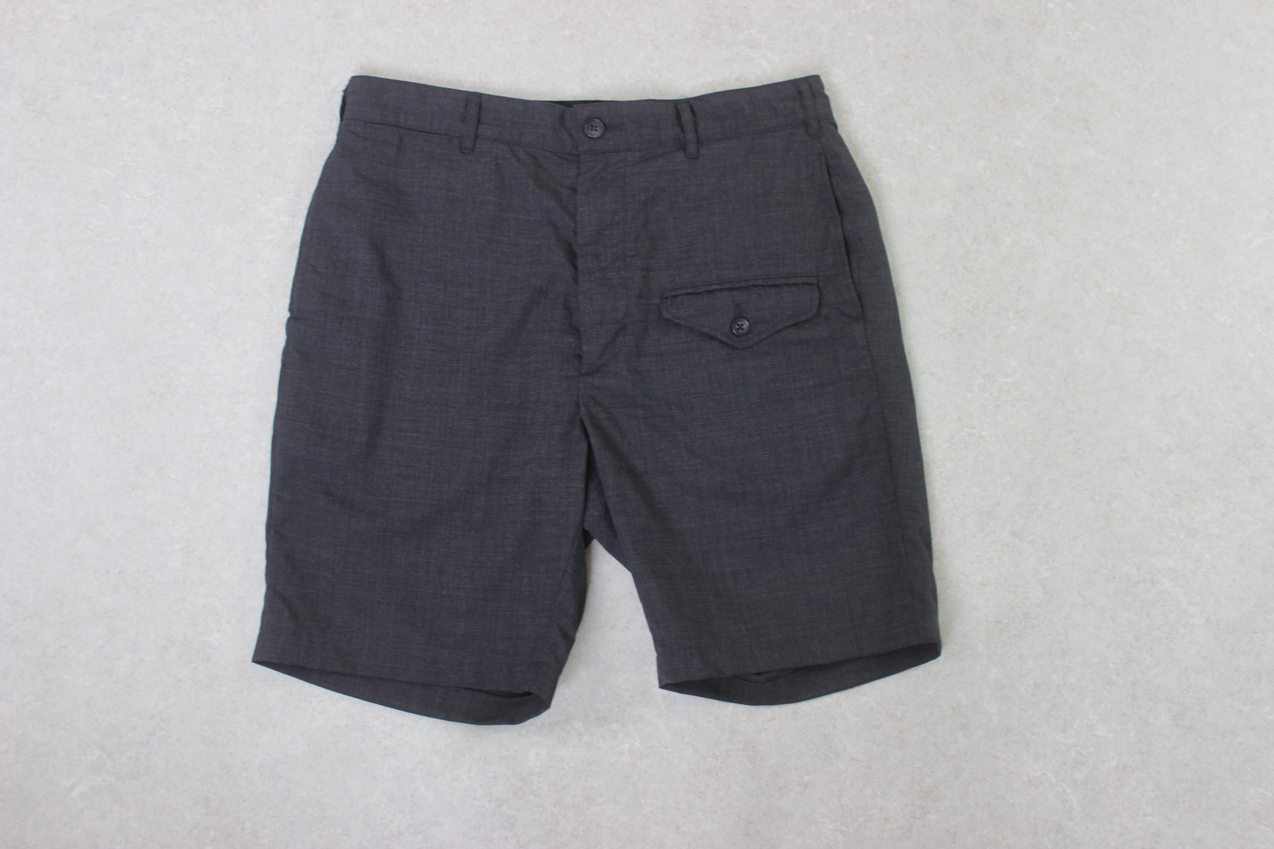 Engineered Garments - Wool Blend Ghurka Shorts - Grey - Small/32