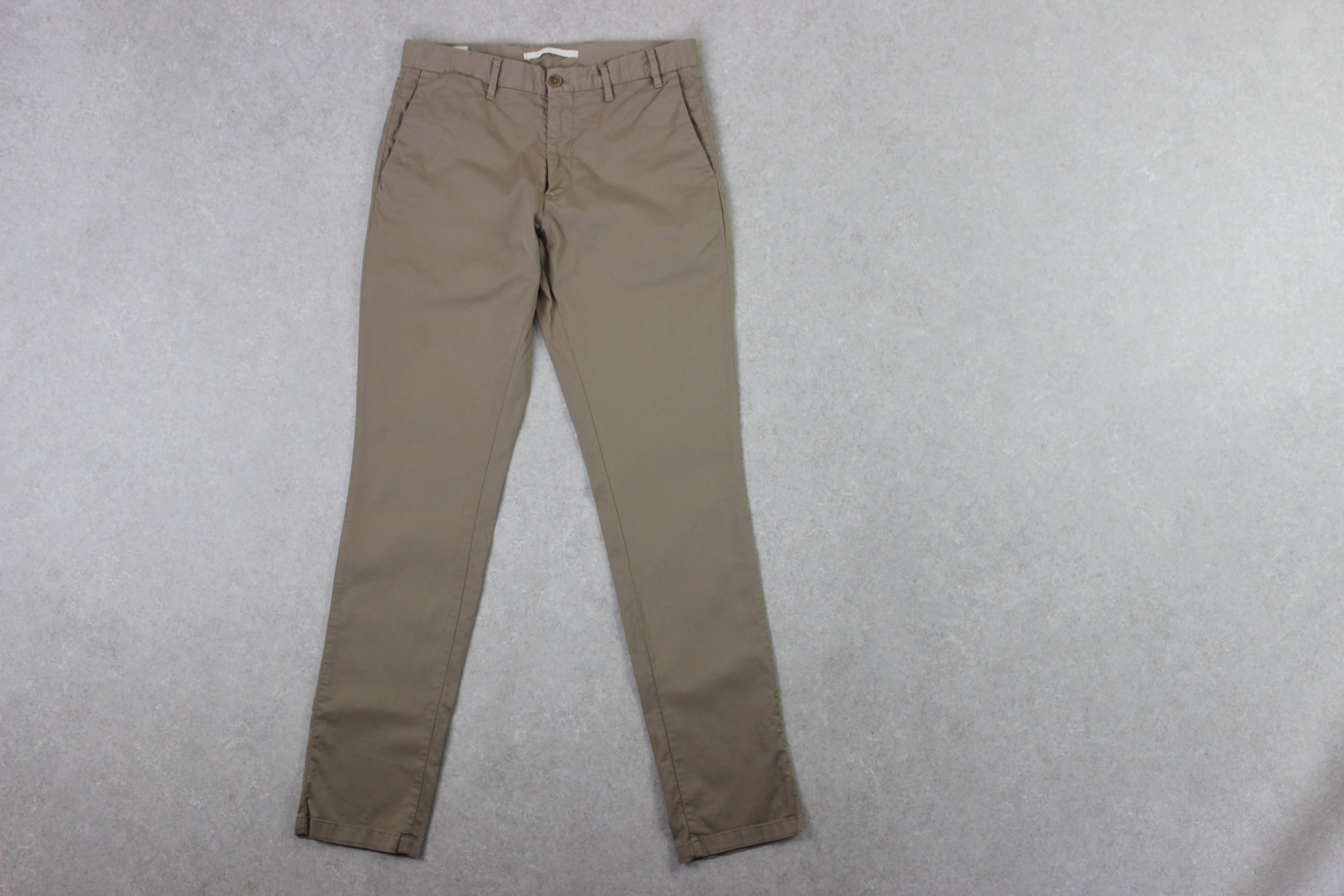 Norse Projects - Slim Chino Trousers - Beige - 30