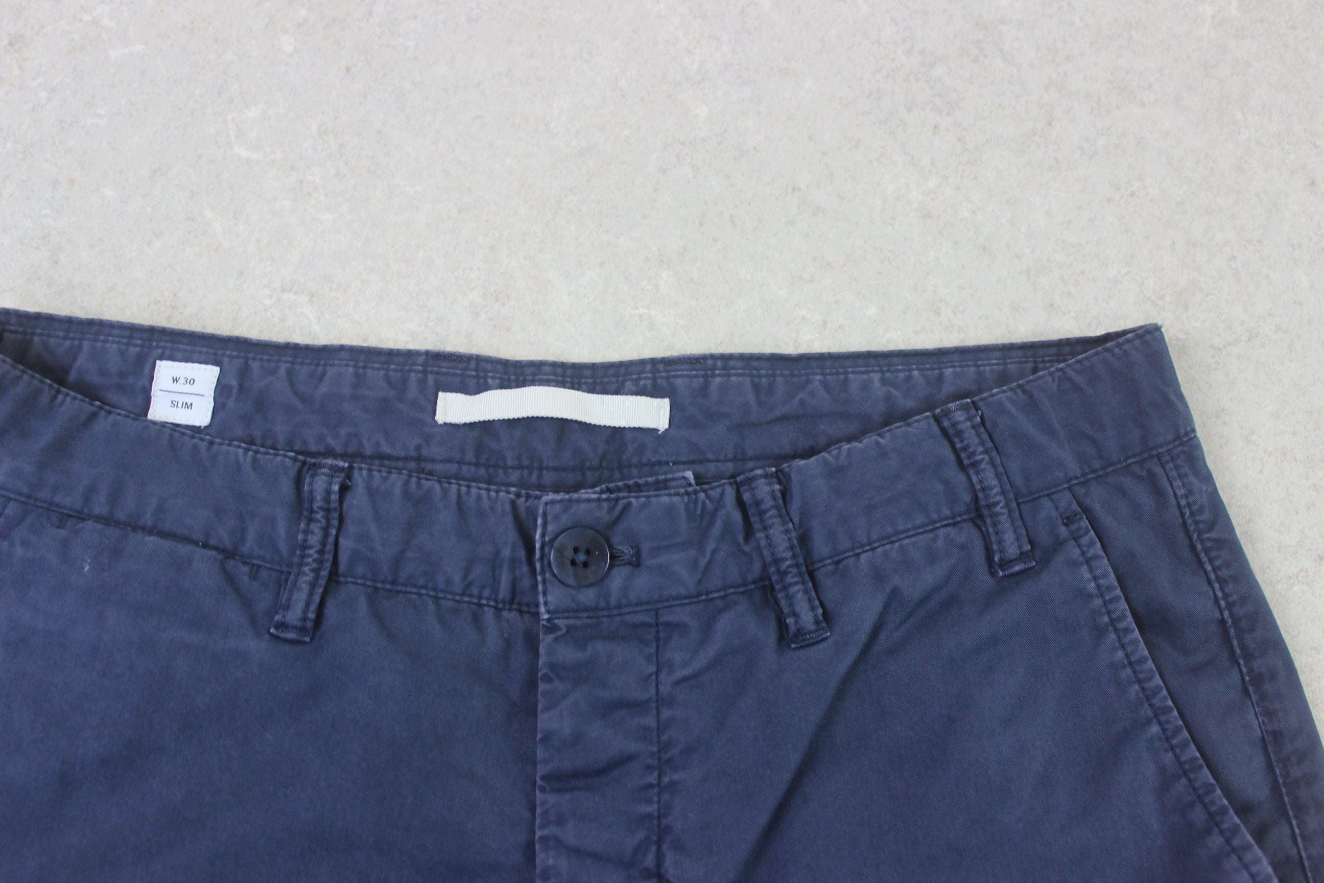 Norse Projects - Slim Chino Trousers - Blue - 30