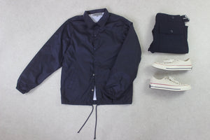 Comme Des Garcons Good Design Shop - Coach Jacket - Navy Blue - Small