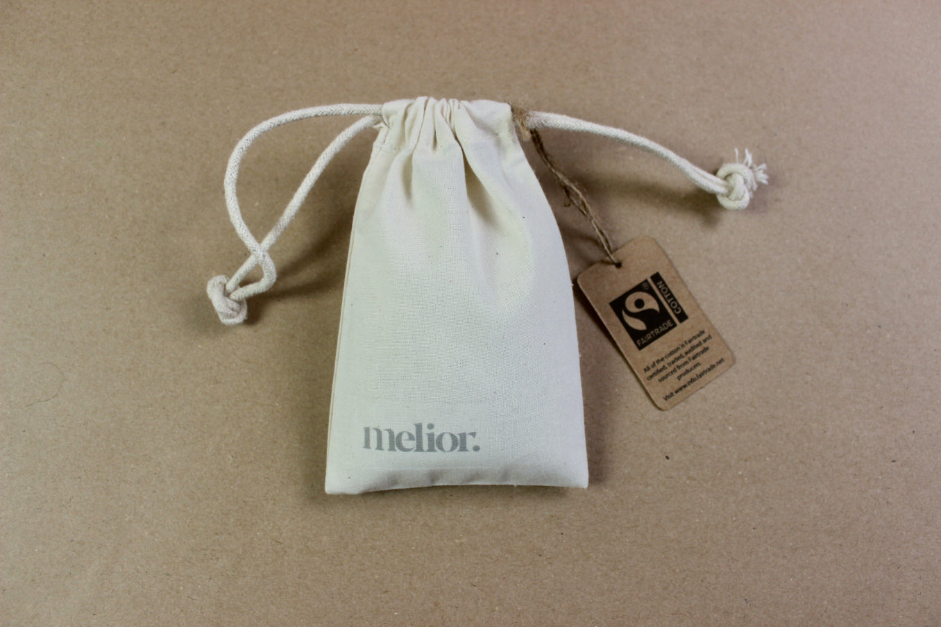 melior. - Scented Drawstring Pouch - Sandalwood