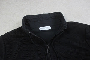 John Elliott - Double Zip Mesh Coat Jacket - Black - 1/Small