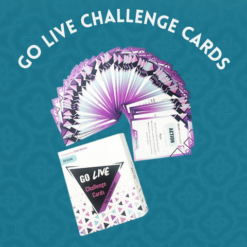 New Go Live Challenge Cards (Physical Cards)