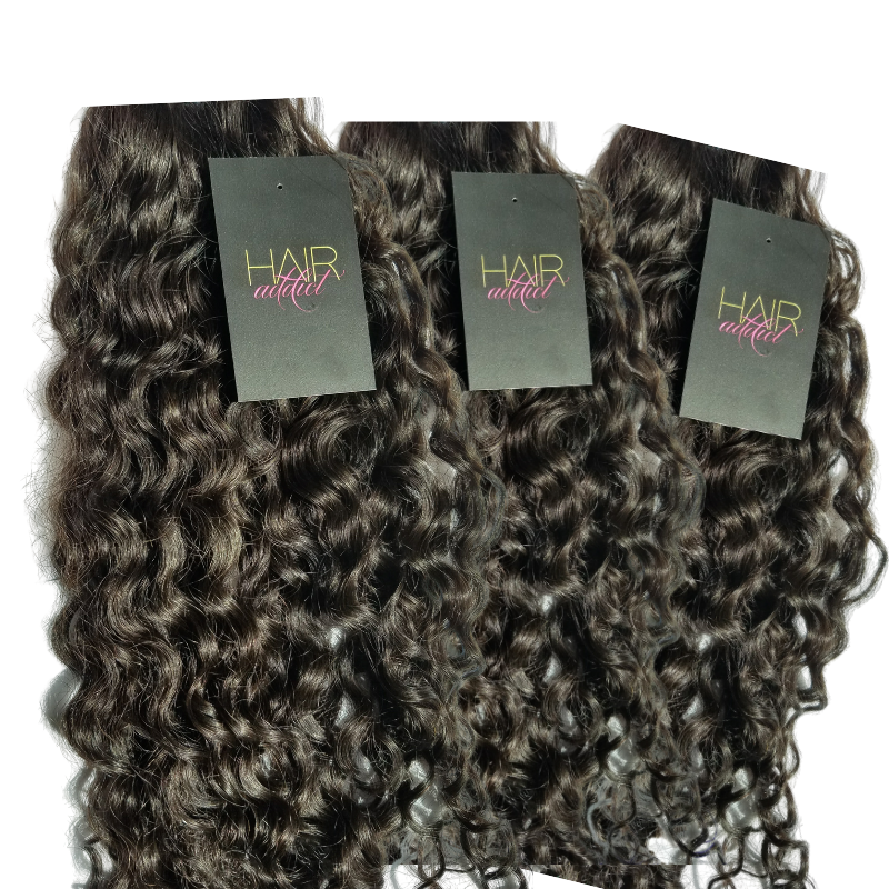 3 BUNDLE DEAL VIRGIN INDIAN INFINITY DEEP CURLY