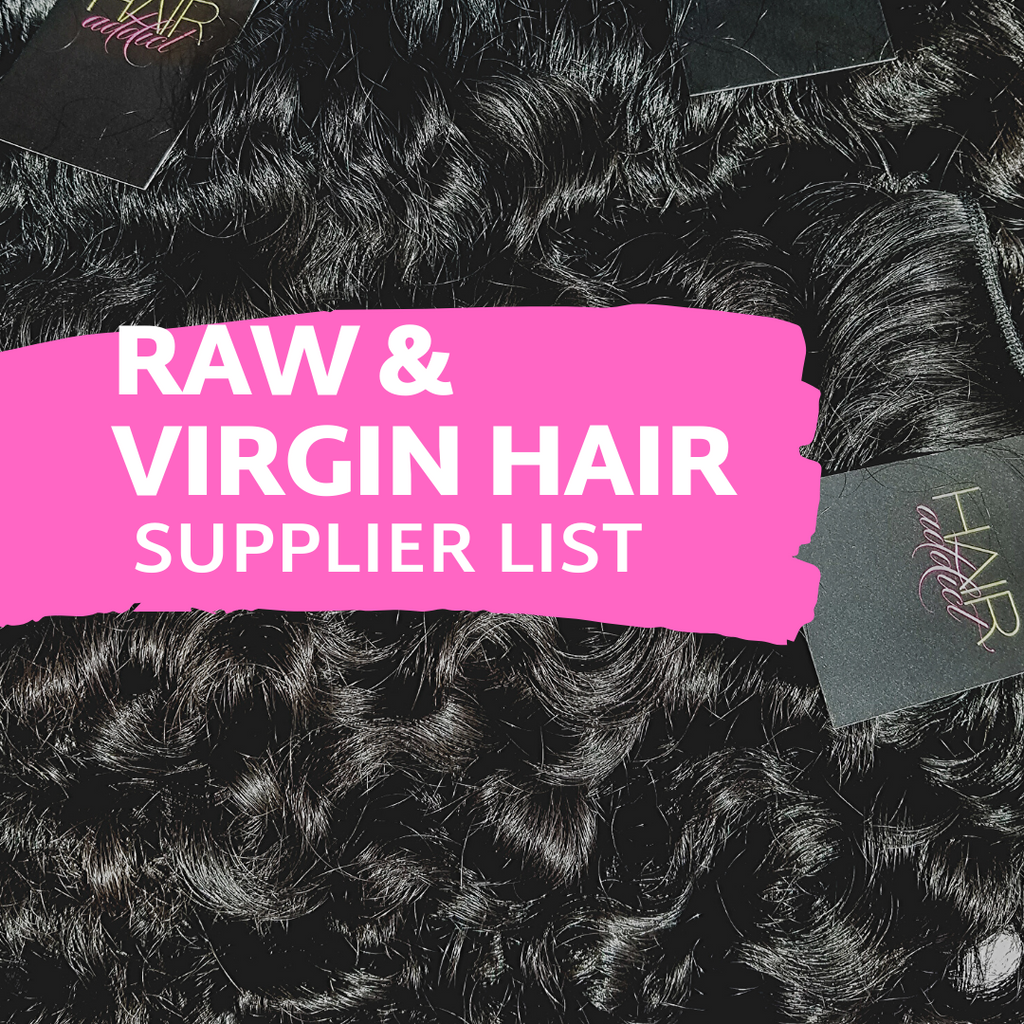 RAW AND VIRGIN HAIR SUPPLIERS