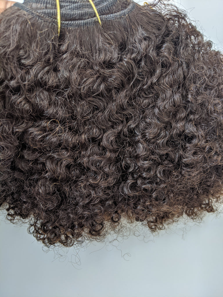Mongolian Kinky Curly- STASH SALE