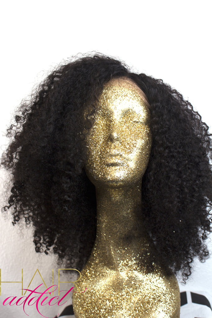 """Rachel"" Looser Kinky Curly Lace Wig"