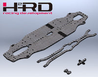 3Racing Advance 20M replacement chassis and deck kit