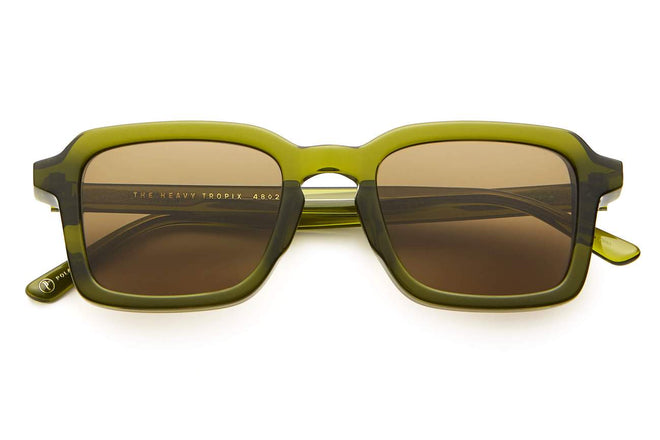 THE HEAVY TROPIX / CRYSTAL OLIVE BIO & POLARISED LENS