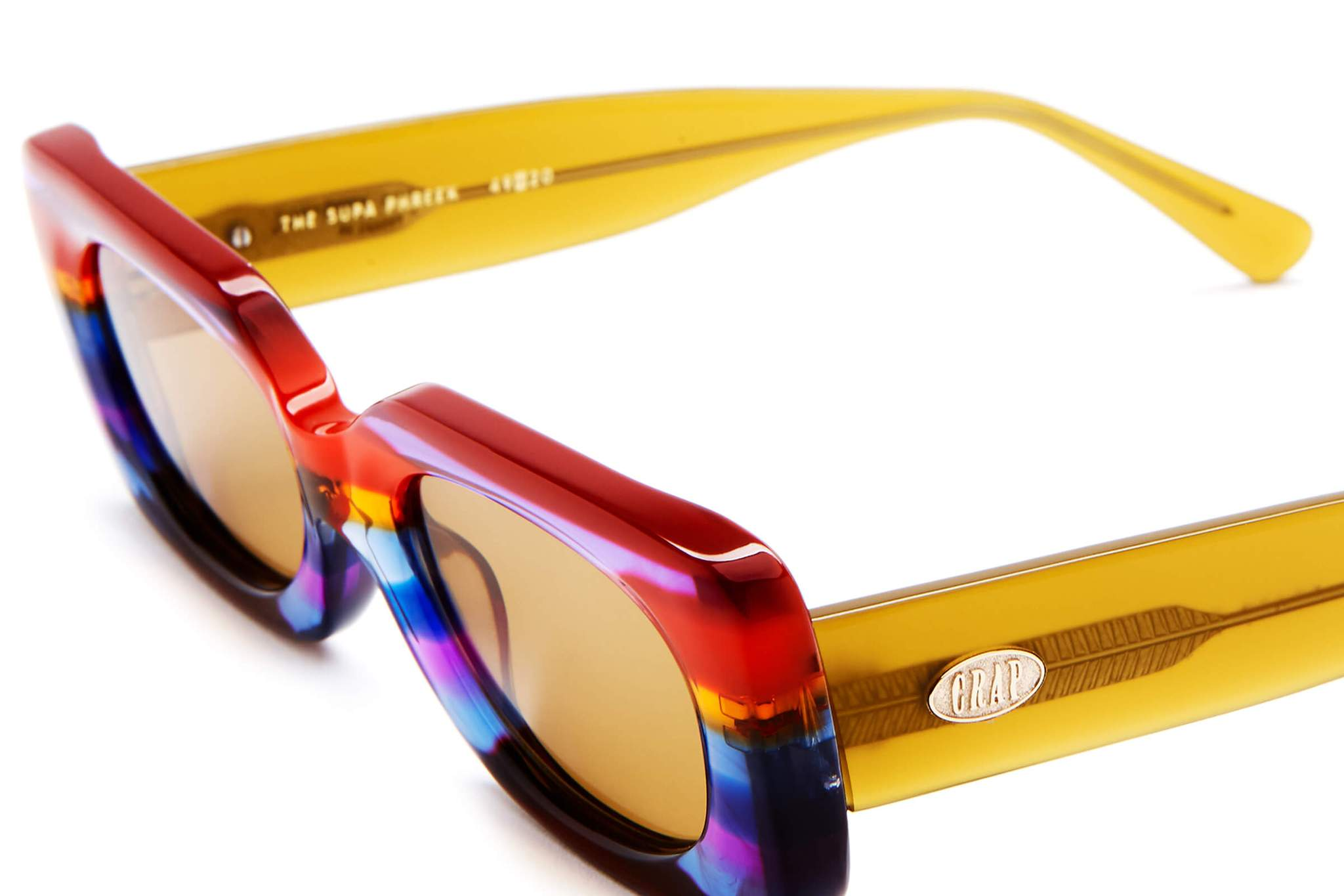 THE SUPA PHREEK / RAINBOW & MUSTARD LENS