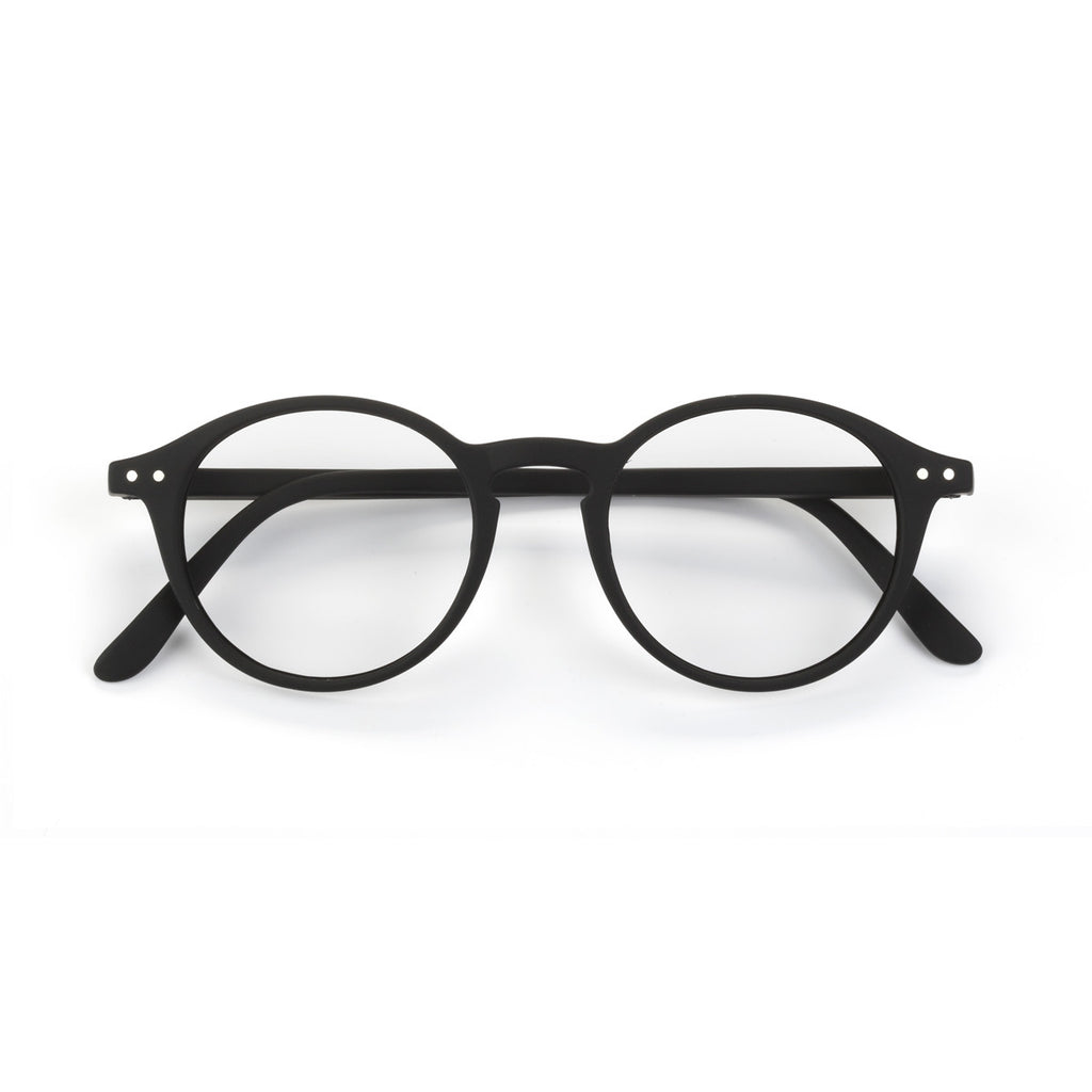 BLUE LIGHT BLOCKER GLASSES / STYLE D / BLACK