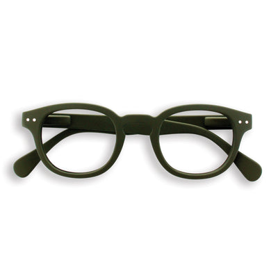 BLUE LIGHT BLOCKER GLASSES / STYLE C / KHAKI GREEN