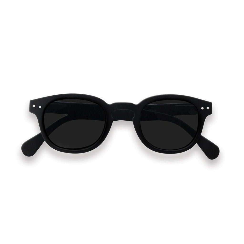 JUNIOR KIDS SUNGLASSES / 3-10 YEARS / STYLE C / BLACK