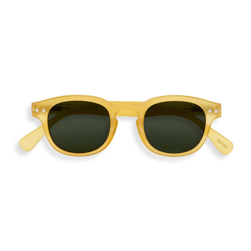JUNIOR KIDS SUNGLASSES / 3-10 YEARS / STYLE C / YELLOW HONEY