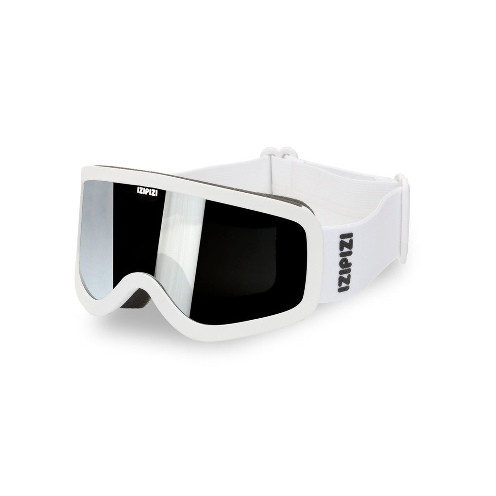 JUNIOR KIDS SKI SNOWBOARD GOGGLES / WHITE