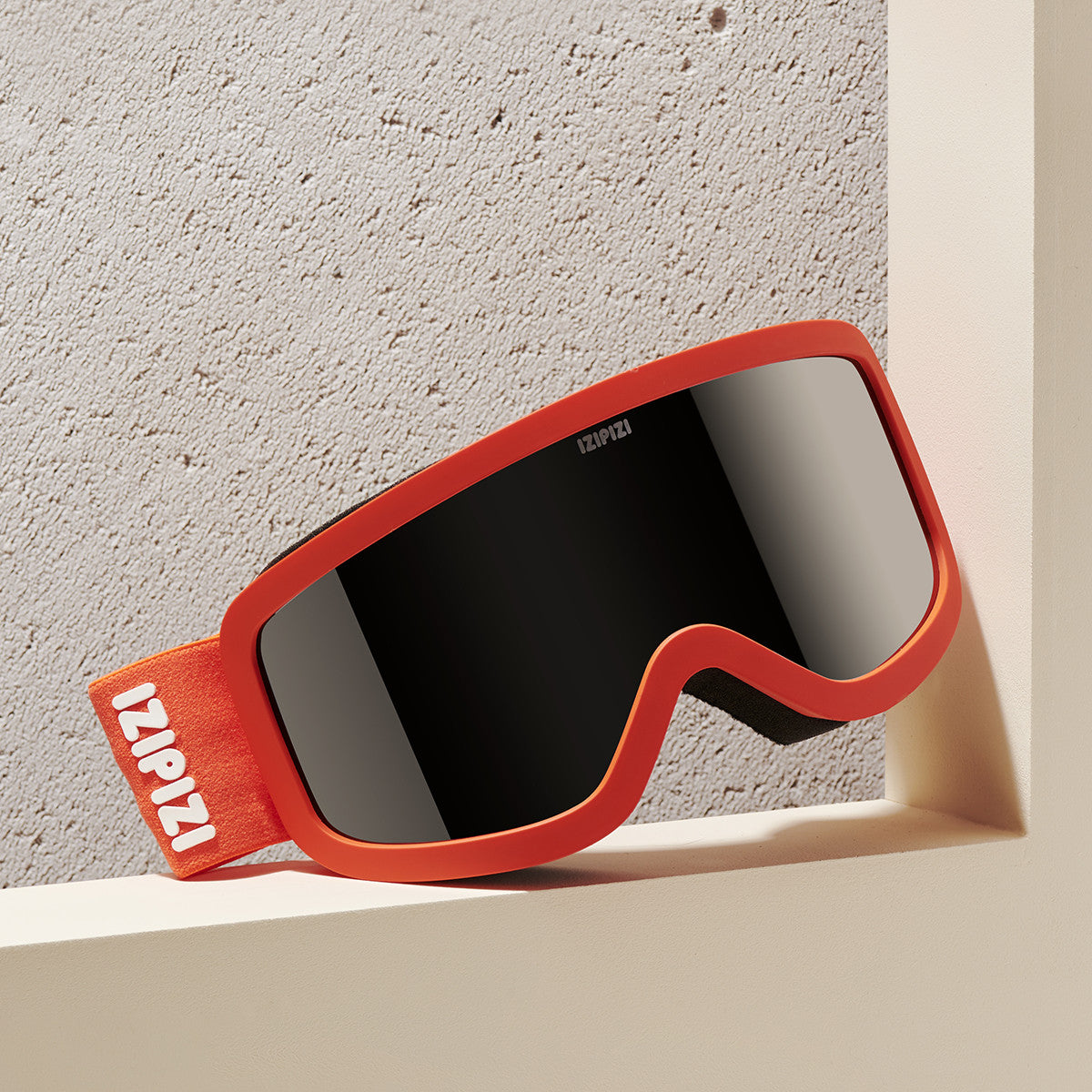 SKI SNOWBOARD GOGGLES / SMALL / ORANGE