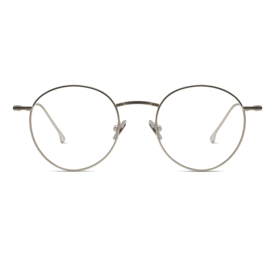 DEAN SLIM / WHITE GOLD / OPTICAL FRAMES