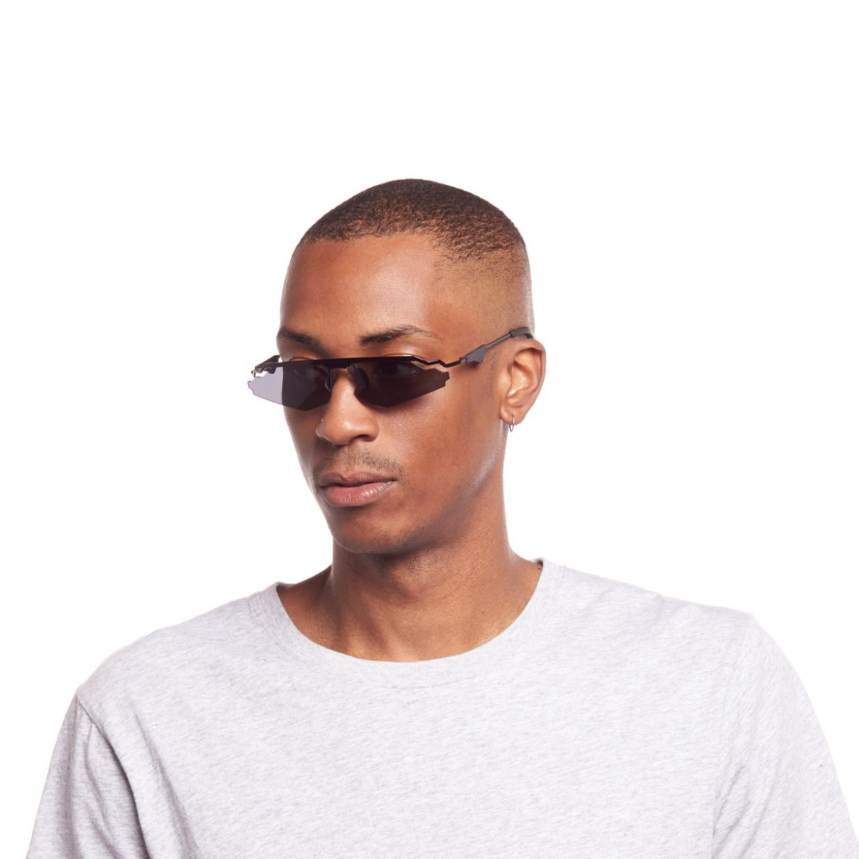 CHRISTIAN COWAN X LE SPECS  / THE CALABASAS / BLACK