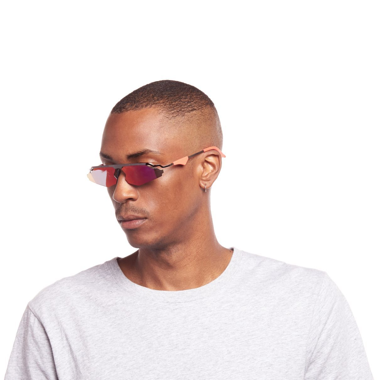 CHRISTIAN COWAN X LE SPECS  / THE CALABASAS / GUN METAL