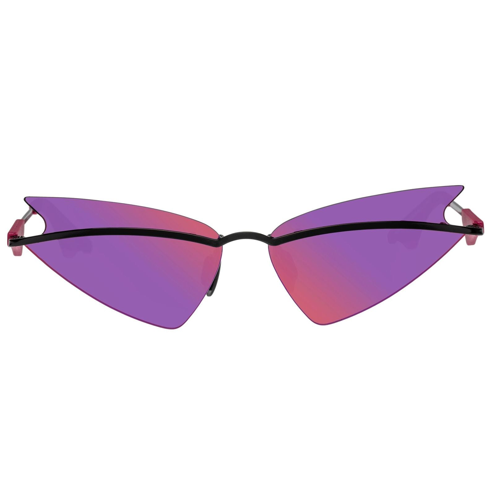 CHRISTIAN COWAN X LE SPECS  / SHEEO / BLACK PURPLE MIRROR