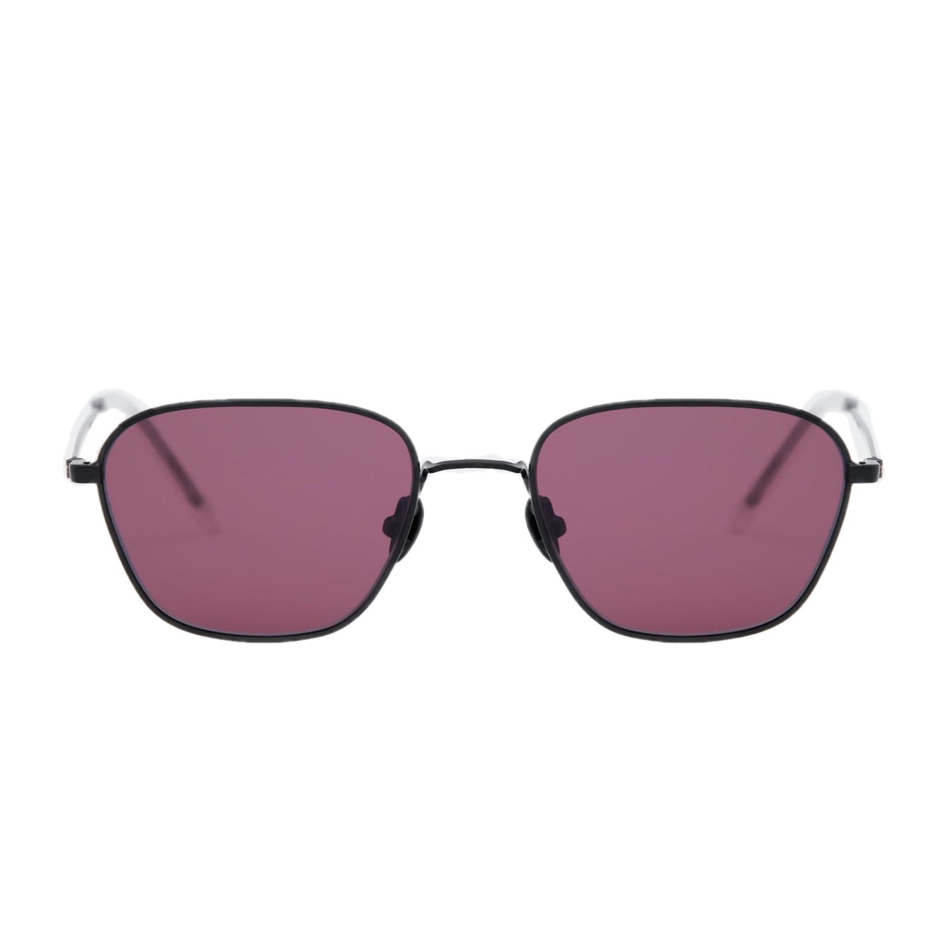 OTIS / BLACK / CRIMSON PINK LENS