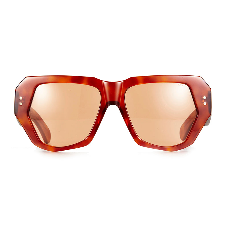 X BEC & BRIDGE / BIG MAMMA / HAVANA SOLID AMBER LENS