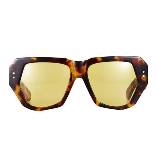 X BEC & BRIDGE / BIG MAMMA / DARK TORTOISE SOLID YELLOW LENS