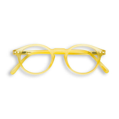 BLUE LIGHT BLOCKER  GLASSES / STYLE H / YELLOW CHROME