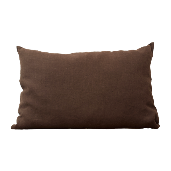 Pillow - Linnen Dark Brown Natural 40X60 cm